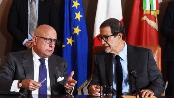"""Ars, Musumeci sui rifiuti: """"Il governo nazionale ci aiuti a inviarli fuori Regione"""""""
