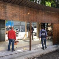 Palermo, demolita una baracca abusiva al Mercato delle pulci