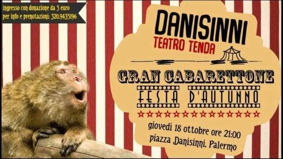 Cabarettone a Danisinni e le Letterature migranti. Gli appuntamenti di giovedì 18 ottobre