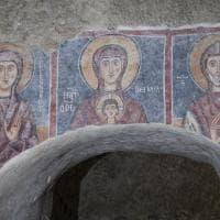 Sicilia, il regalo del Fai a Lentini: restaurati gli affreschi del Duecento