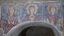 Lentini, il regalo del Fai  restaurati gli affreschi  del XIII secolo