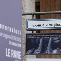 Palermo, la provocazione di Wu Ming: foto degli orrori del fascismo nelle vie intitolate ai gerarchi