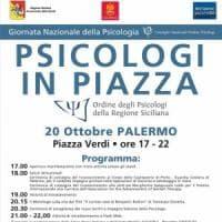 Palermo, psicologi in piazza per la giornata del benessere