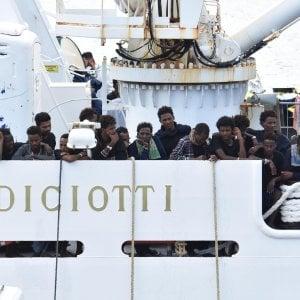 Diciotti, nessun reato a Lampedusa: i pm valutano cosa accad