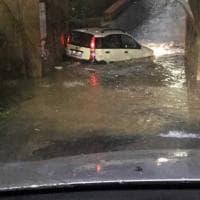 Enna, pioggia torrenziale a Piazza Armerina. Famiglia salvata dai vigili del fuoco