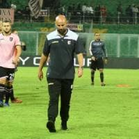 Palermo, la soddifazione di Stellone dopo il 3-0: