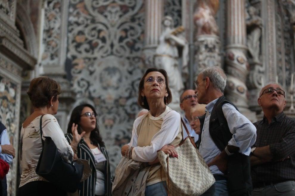 Palermo, Le vie dei tesori salutano con 273 mila presenze nei monumenti della città: le foto