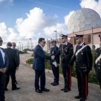 Palermo, il presidente Sarraj a Ustica per rendere omaggio ai morti libici