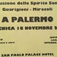 Palermo, leader in fuga all'incontro con lo spirito santo