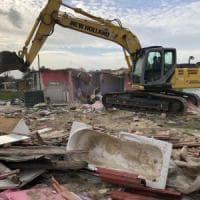 Palermo, tornano le ruspe al campo rom: demolite e rimosse 4 baracche