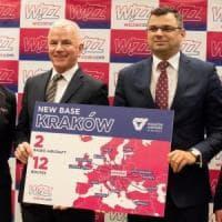 Aerei: WizzAir, nuova base a Cracovia. Voli dalla Polonia a Catania