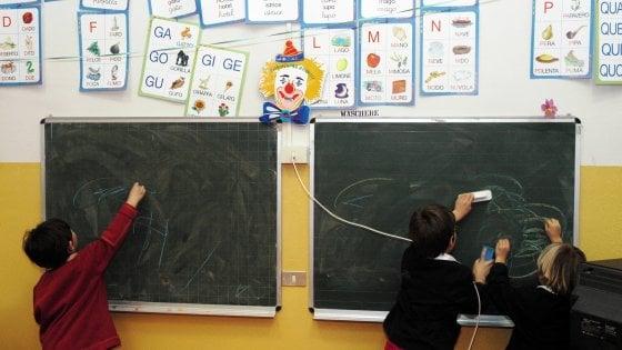 Scuola, il bluff del tempo pieno: il servizio sarà offerto solo a 10mila bambini