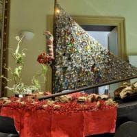Palermo, i carri del Festino: i modellini in mostra