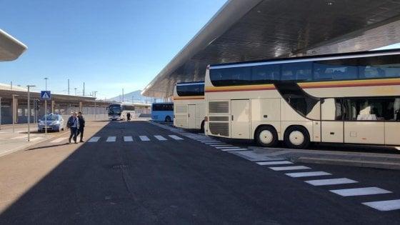Palermo: aperto il nuovo terminal bus delle Ferrovie, potrà ospitare 15 pullman
