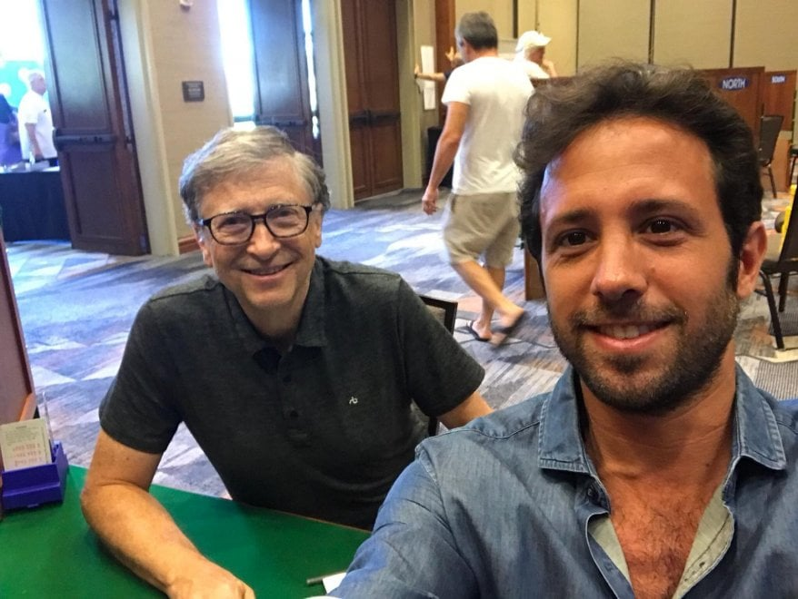 Honolulu, due palermitani battono Bill Gates a bridge