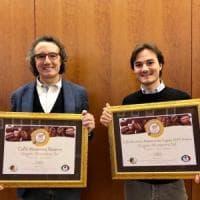 Due medaglie d'oro per Morettino alle olimpiadi del caffè