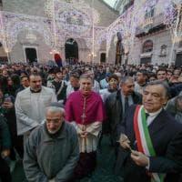 Palermo, folla alla processione dell'Immacolata
