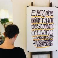 Palermo, i diritti universali dell'uomo esposti in quindici laboratori artigiani
