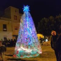 Lampedusa, l'albero di Natale diventa ecologico