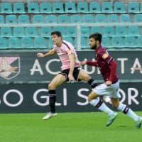 Palermo, il vantaggio di Moreo non basta: col Livorno un 1-1 in un Barbera semivuoto