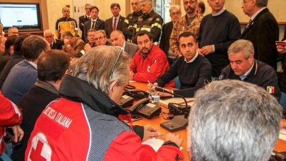 """Terremoto Etna, Salvini: """"Sfollati avranno subito un tetto sulla testa"""""""