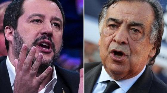 """Orlando-Salvini, continua il botta e risposta: """"Meno Facebook e più fatti, le villette confiscate sono da abbattere"""""""