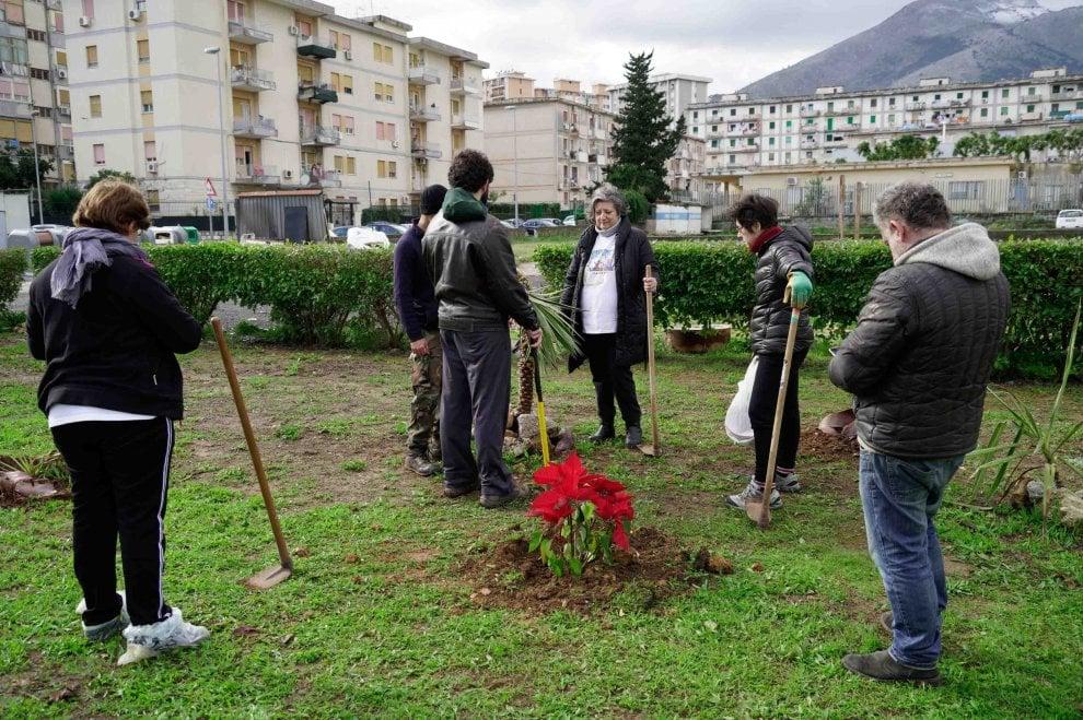 """Palermo, """"incursione"""" di Guerrilla Gardening al Cep"""