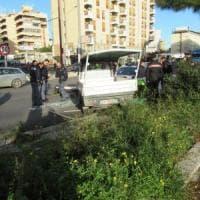 Palermo, contromano per sfuggire alla polizia: quattro feriti in viale Regione