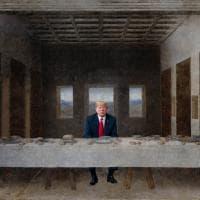 Palermo, Trump-Gesù e la Corea pop nella mostra di Ferrigno e Papeschi