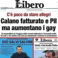 Il titolo omofobo di Libero, l'attacco del sindaco di Palermo: