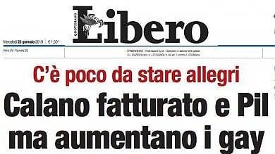 """L'attacco del sindaco di Palermo  al titolo omofobo di Libero: """"Vergognoso"""""""