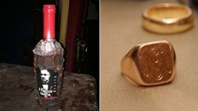 """L'anello del nonno boss e la saga """"Il Padrino"""" i simboli del capomafia Greco jr"""