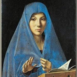 Risultato immagini per Annunciata de Antonello da Messina, Palazzo Abatellis – Palermo