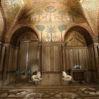 Palermo, restaurati e clonati i leoni di Palazzo reale