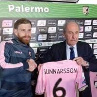 Palermo, si presenta l'oggetto misterioso Gunnarsson: