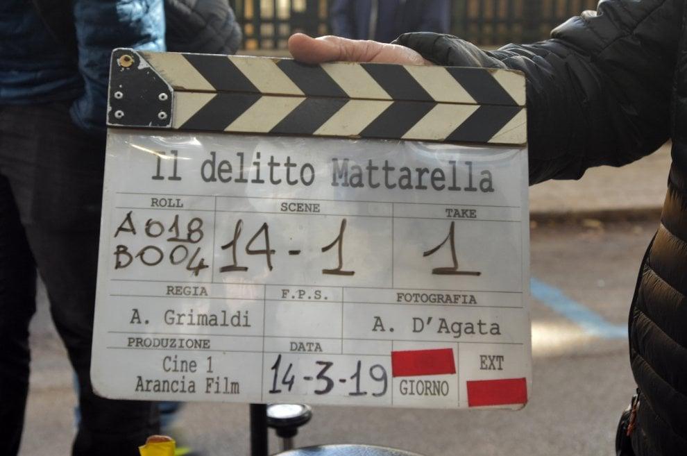 Palermo, ciak di Grimaldi sul delitto Mattarella
