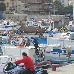 Palermo, crolla una gru al porticciolo dell'Arenella: due feriti