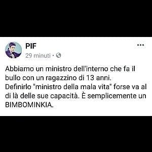 Palermo, Pif attacca Salvini sulla cittadinanza a Rami
