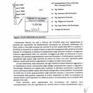 """Palermo, la lettera dell'ex assessore alla Rap: """"Niente risorse senza un piano industriale"""""""