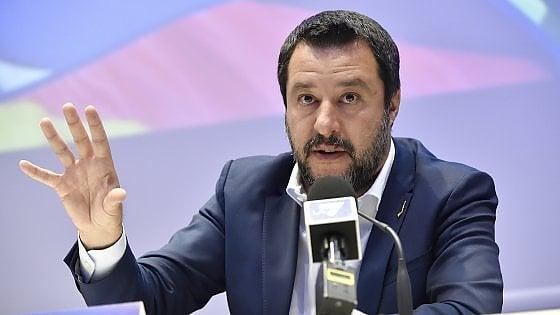 """Il 25 aprile Salvini in Sicilia: """"La priorità è la liberazione dalla mafia"""""""