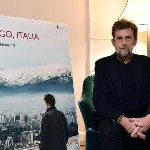 """Palermo, Nanni Moretti presenta """"Santiago, Italia"""""""