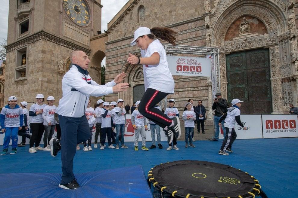 Messina bagno di folla per la seconda tappa di banca generali un campione per amico pi di - Amico bagno firenze ...