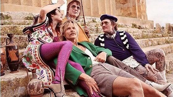 I templi di Selinunte fanno da sfondo alla campagna d'autunno di Gucci