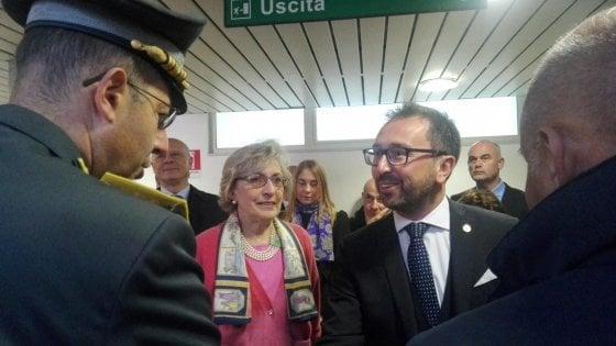"""Sicilia, il ministro Bonafede: """"Sconcertante che qui non si applichi il decreto spazzacorrotti"""""""