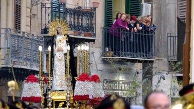 Palermo, le immagini della Via crucis