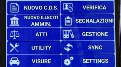Palermo, le multe si fanno con i tablet