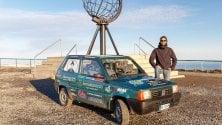 Quattordicimila km con la Panda del nonno la sfida vinta da Giannone
