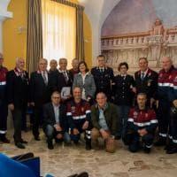 Palermo, i volontari dell'associazione Polizia di Stato negli uffici della procura per i minori