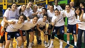 Palermo, la AndrosBasket  conquista la serie A1 femminile