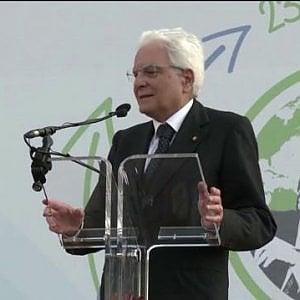 """Falcone, Mattarella: """"L'Italia si inchina nel ricordo delle vittime della mafia"""""""